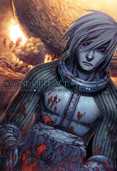 Stone of peace_cover by SENGHUI