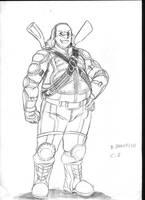 Benjamin Frankllin - Superhero by KrazyKrow
