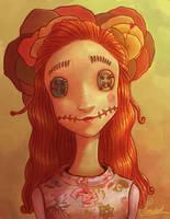 Spring doll by Nomidart