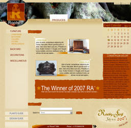 Roots - the website by LH310