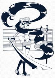 Hero sword Girl by shinpillan
