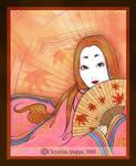 Momiji Heian by Qiu-Ling
