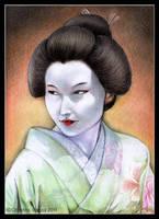 Hatsumomo by Qiu-Ling