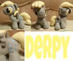 Derpy Plush by Sakairi-chan