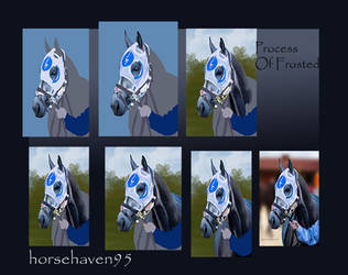 Frosted Process by horsehaven95