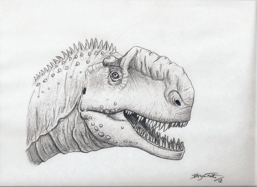 Monolophosaurus by DinoHunter000