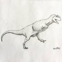 Majungasaurus Study by DinoHunter000