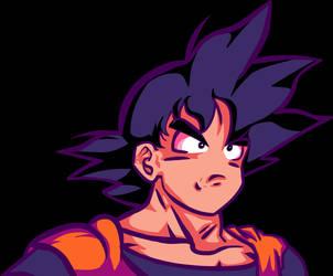 Goku - Dragon Ball Z / Super by therossen