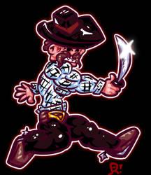 Pirate Bandit (a bit cowboyish) by therossen