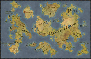 Small world map Ignis by Senso0scuro