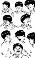 Kaneda studies by Guts-N-Effort