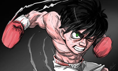 Fighting Spirit IPPO by Guts-N-Effort