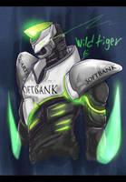 Wild Tiger by raidenokreuz76