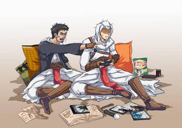 Assassin's Creed - n00b gamer by raidenokreuz76