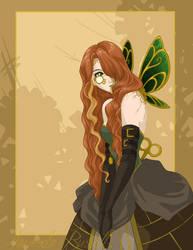 Steampunk Butterfly by shinga