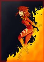 Commission - Firebrandi by shinga