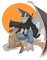 Gargoyle Travis by shinga