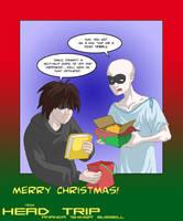 Merry Christmas from Head Trip! by shinga