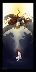 Awaken, Warrior, and Rise by shinga