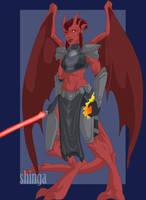 Gargoyle Sith by shinga