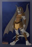 Commission - Gargoyle Moira by shinga