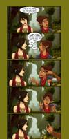 Morrigan and Noli - 'Shemsplaining' by shinga