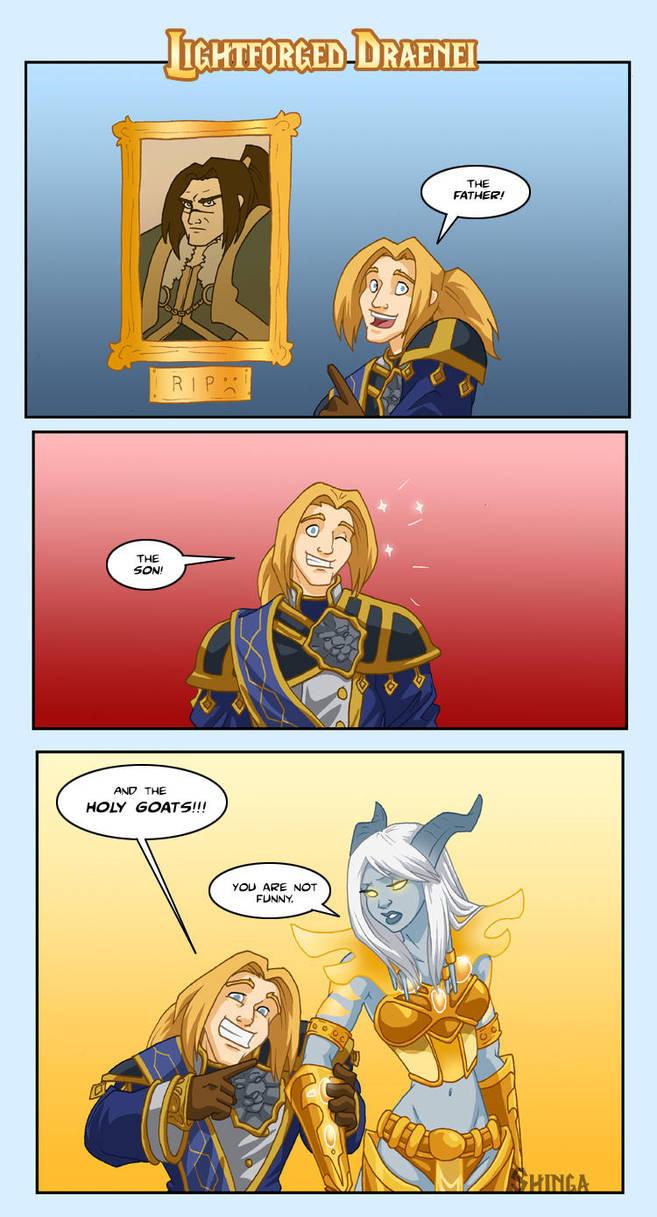 World of Warcraft - Lightforged Draenei by shinga