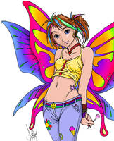 Bubblegum Fairy by shinga