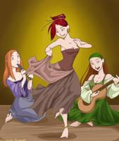 Head Trip Sisters by shinga
