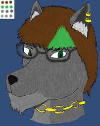 PS Experiment - Wolfe Concept by Halfwolf102