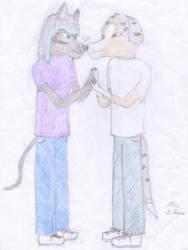 Valentines Day 2 -WIP- by Halfwolf102