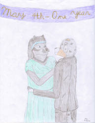 One Year by Halfwolf102