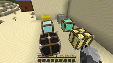 Minecraft Customization by Halfwolf102