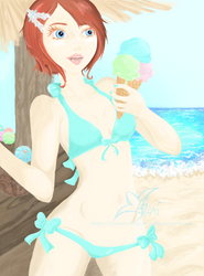 Elise - Ice Cream by Gemini-Mystica
