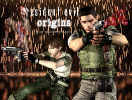Resident Evil: Origins Chris and Rebecca by CuttingEdge93