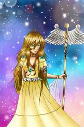 Ania Goddess of Life(Saint Seiya Love of Goddess) by Asma-chan