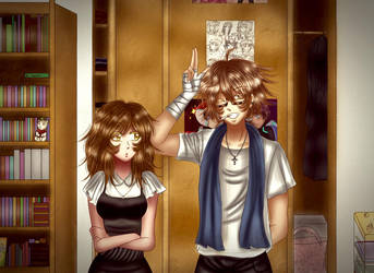 Ai Sabouki and Keibo by Asma-chan