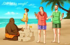 Saul Goodman and Associates on Vacation by NessaSan