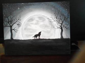 She-wolf by Ivana Krsmanovic by NemanjaVeselinovic