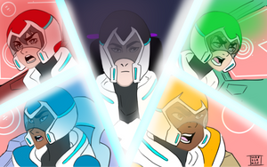 Voltron by marisakii
