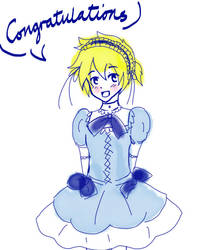 Len is a Sweet lolita - for Ask-jakehunter by ASK-Len