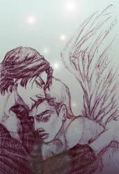 My Angel_sketch by IrbisN