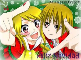 Merry Christmas by Mari123Vicky