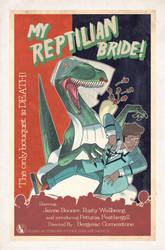 My Reptilian Bride by bazazatron