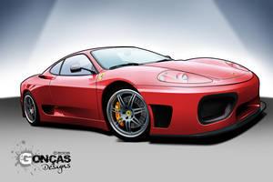 Ferrari F360 Modena GT Street by carguy88
