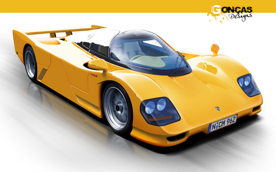 Dauer Porsche 962 Le Mans by carguy88