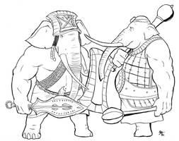 Elephantmen by A3DNazRigar