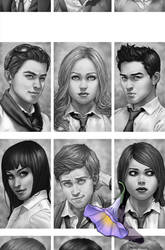 Morning Glories Yearbook 2011 by cakes