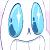 Sans Anime Eyes Icon