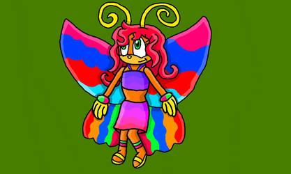 Samba the Butterfly by Samtherabbit